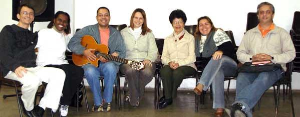 Coordenação e Equipe de Pregação do APROFUNDAMENTO DE ORAÇÃO
